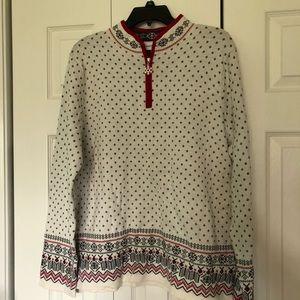 Breckenridge Cream Winter Sweater (NWT)